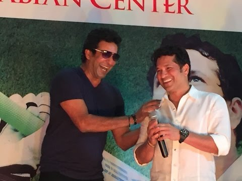 Sachin and Akram in Arabian Center
