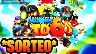 *EL MEJOR JUEGO DE MOVIL* SORTEO ¡¡POR FIN BTD 6!! #1 - BTD 6 Español