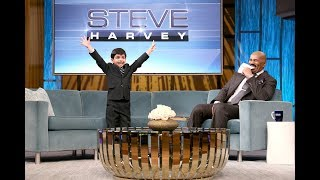 Steve Harvey TV Show | Steve Harvey and Akash Funny Spelling Bee