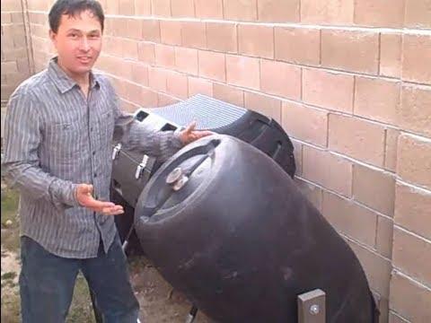 Building a 55 Gallon Barrel Tumbler and Lifetime 80 Gallon Tumbler