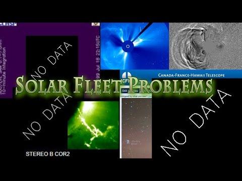 Major Telescope & NASA's Sun Satellites are offline or breaking.