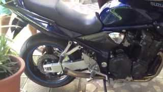 suzuki bandit 1200 no exhaust