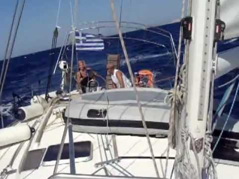 Sailing From Mykonos to Syros