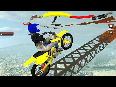 Enjoyable GT Bike Stunts - Extreme Motorcycle Games | Motorbike Games - Cell Games | Free Game Apps