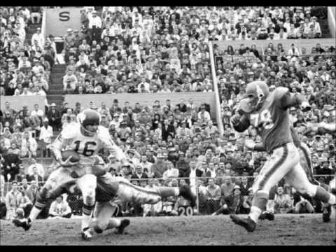 1962 American Football League Championship slideshow - Dallas Texans vs. Houston Oilers