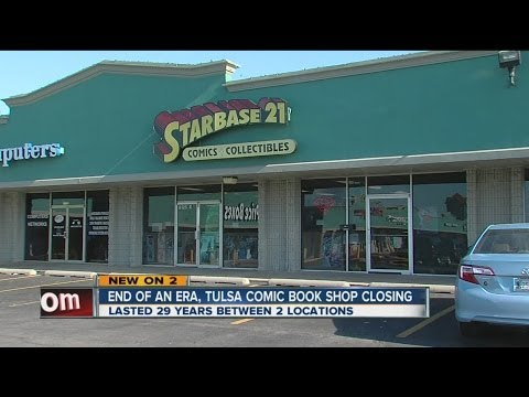Tulsa comic shop Starbase 21 closing after more than 29 years in business, open until New Year's Eve