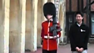 Why you don't harass the Queen's Guard