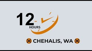 VIRTUAL RAILFAN 12 HOURS INTO 4 MINUTES AT CHEHALIS, WA!