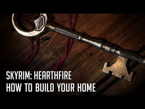 hearthfire how to build a home