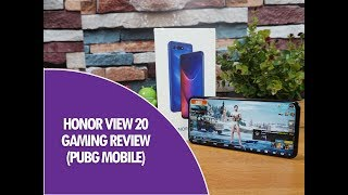 Honor View 20 Gaming Review with PUBG Mobile HDR Ultra- Heating and Battery Drain