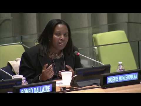 Testimony by Eugenie Mukeshimana, a survivor of the 1994 genocide in Rwanda