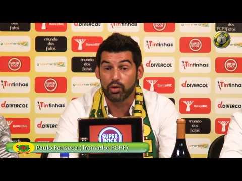 Apresentação Oficial de PAULO FONSECA como treinador do FC PAÇOS DE FERREIRA