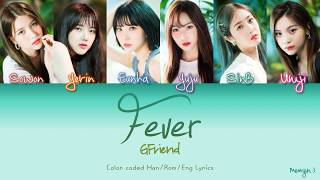 GFRIEND (여자친구) - Fever (열대야) | Color Coded Lyrics (Han/Rom/Eng)