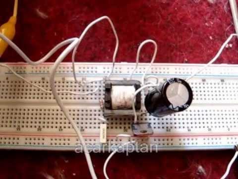 4,1 volt pil ile 6-12 volt akü şarj etme