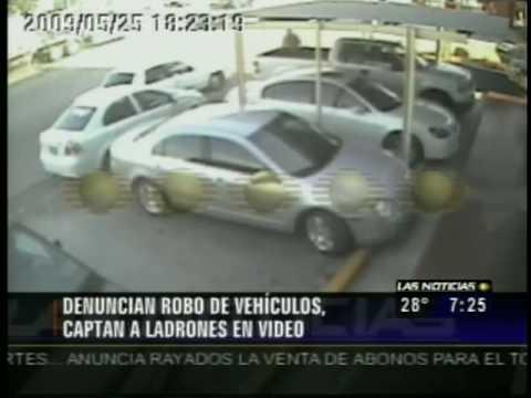 Captan A Ladrones En Video (Las Noticias Televisa Monterrey)