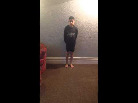 8 Year Old Brother Does Front Handspring He Is Amazing Xxx video
