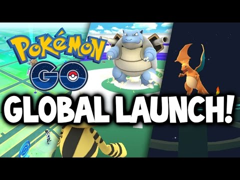 Pokemon GO ★ GLOBAL LAUNCH: What you NEED to know! ★ Pokemon GO Update News - 17th July