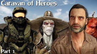 New Vegas Mods: Caravan of Heroes - Part 1