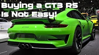 Bad Experience Buying a Porsche GT3 RS (911 991.2) in California, Leasing