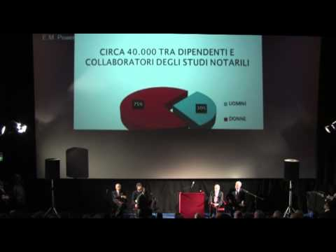 Question time sul mondo notarile 02 intr Dino Falconio