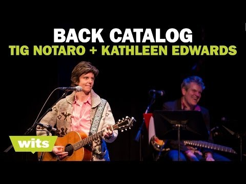 Tig Notaro and Kathleen Edwards - Back Catalog - Wits Game Show...