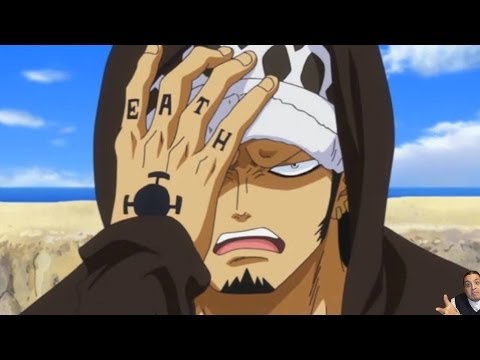 One Piece Episode 645 ワンピース Review -- Tournament Continues & Law Vs Doflamingo Vs Fujitora Continues