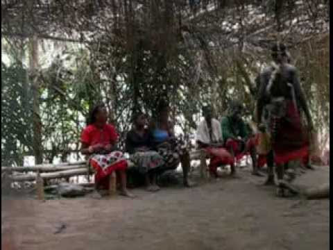 Trance Dance: After a Night of Dancing at Dawn Gabon Bwiti Dancers Keep On