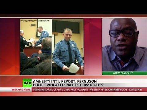 Human rights violations abundant in Ferguson police response