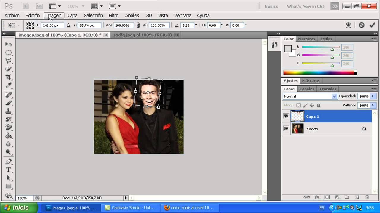 Como hago un fotomontaje en photoshop cs3 cs go trade terms