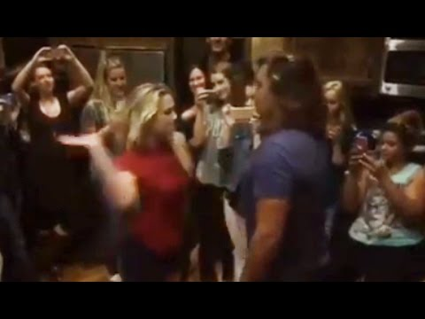 Chloe Lukasiak SLAPS a man HARD