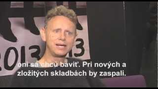 Martin Gore interview for TopStar