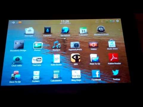 Tuto installer des applications Android sur tablette blackberry playbook