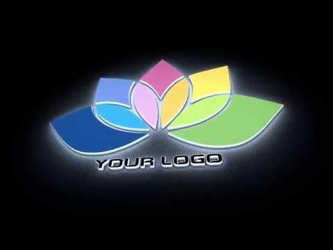 I will create this Light Emitting 3D logo intro video