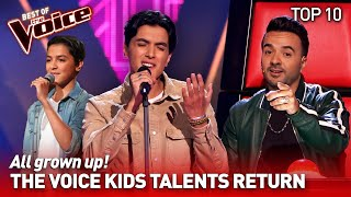 TOP 10 | The Voice Kids talents RETURN as ADULTS in The Voice