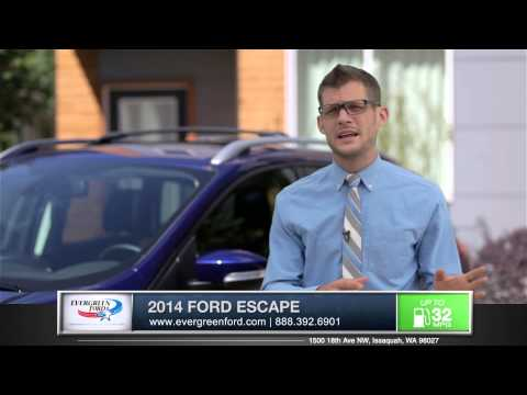 2014 Ford Escape Walkaround | Evergreen Ford - Serving Issaquah, WA & Seattle, WA
