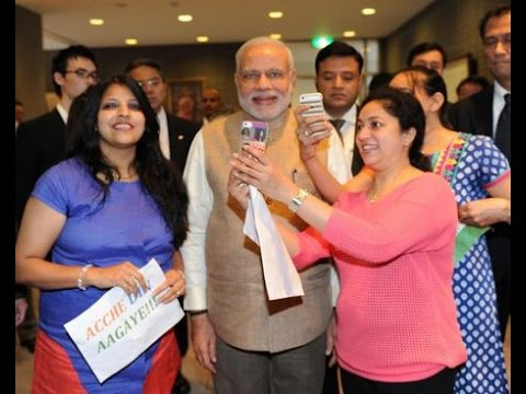 Pm Modi Arrives At Sacred Heart University & Meets Indian Students In Tokyo video
