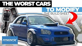 Worst Types of Cars to Modify | The Build Sheet