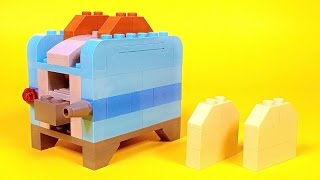 "Lego Toaster Building Instructions - Lego Classic 10696 ""How To"""