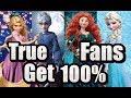 Guess The Song!! -⌾DREAMWORKS⌾DISNEY⌾PIXAR⌾ - True Fans Get 100%!!