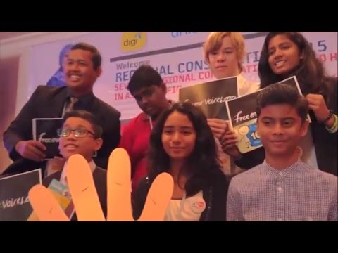Free Our Voices launch at CHI's Regional Consultation in Asia-Pacific (November 2015)
