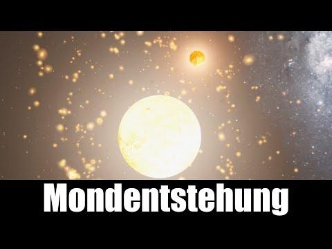 Erdmondentstehung in Universe Sandbox²
