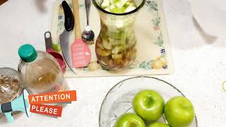 "How To Make Apple Cider Vinegar With ""The Mother"""