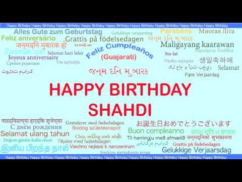 Shahdi   Languages Idiomas