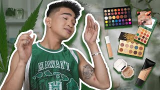 Doing and Reviewing my Makeup LITTY - a mess