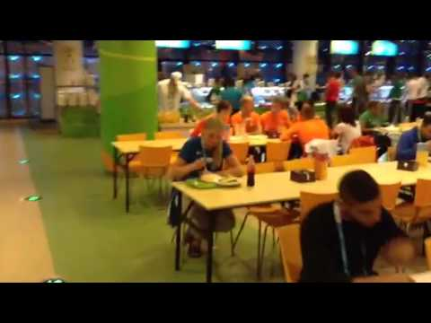 Centrale Diner hal Youth Olympic Games