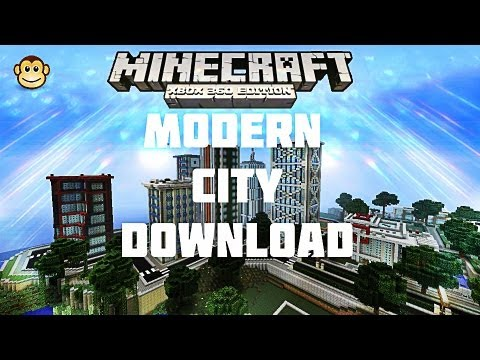 Minecraft Xbox 360 - Modern City Download