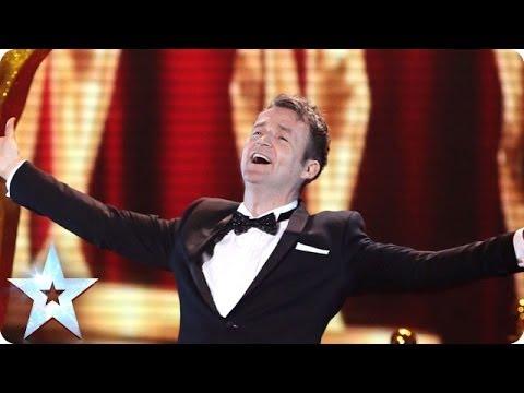 See Impressionist Jon Clegg's star-studded Final | Britain's Got Talent 2014 Final