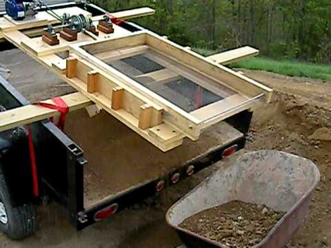 Topsoil screener take two youtube for What is soil made out of