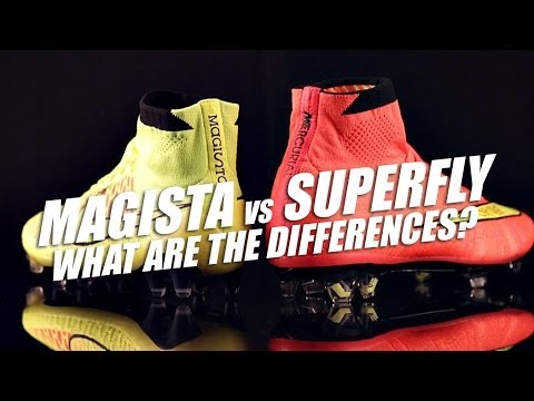 Nike Magista Obra vs Mercurial Superfly - What's the difference?