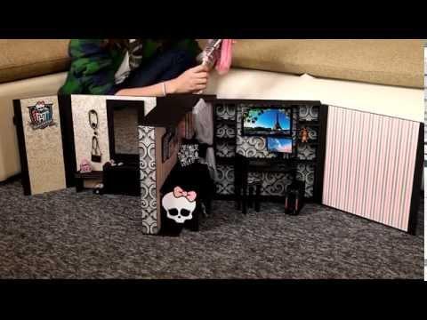 Домики для кукол монстер хай своими руками